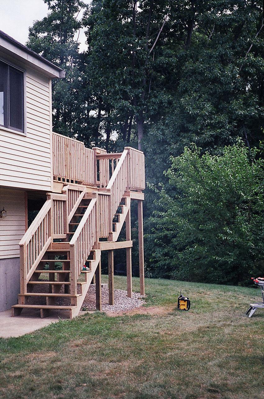 L J Builders Decks Patios Page2
