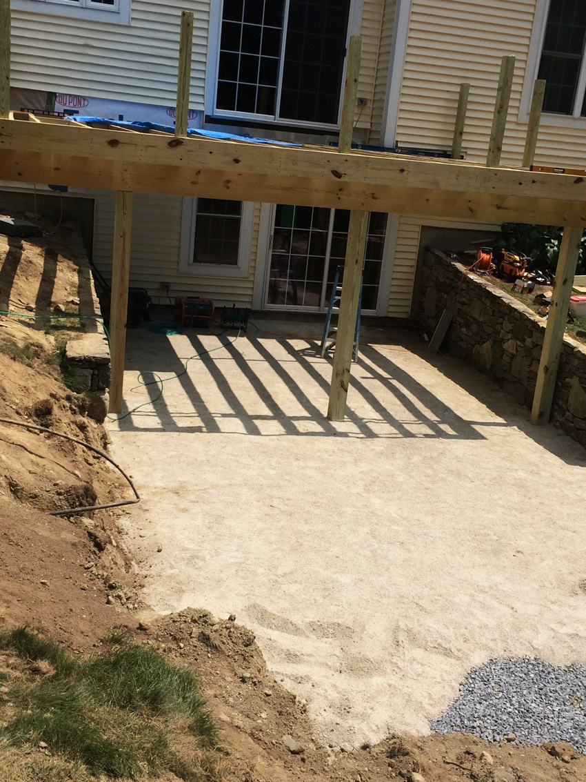 L J Builders Decks Patios